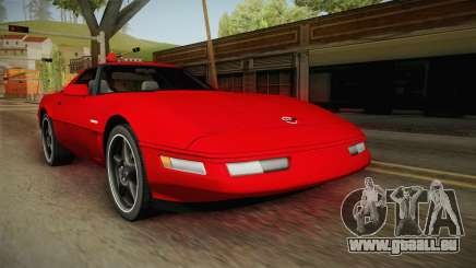 Chevrolet Corvette C4 FBI 1996 pour GTA San Andreas