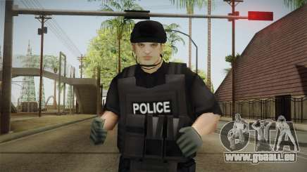 New SWAT Skin pour GTA San Andreas