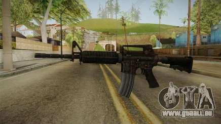 Colt M4A1 Rusty für GTA San Andreas