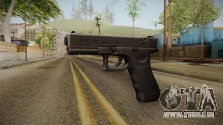 Glock 18 3 Dot Sight Pink Magenta für GTA San Andreas
