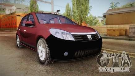 Dacia Sandero Stepway 2011 pour GTA San Andreas