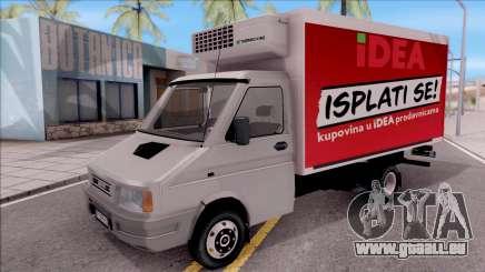 Zastava Daily 35 Transporter pour GTA San Andreas