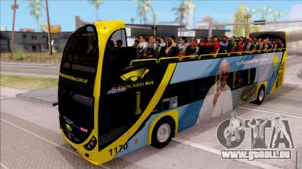 Scania Metalsur Starbus 2 Descapotable pour GTA San Andreas