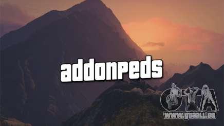 AddonPeds 3.0 für GTA 5