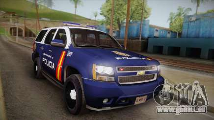 Chevrolet Tahoe Spanish Police pour GTA San Andreas