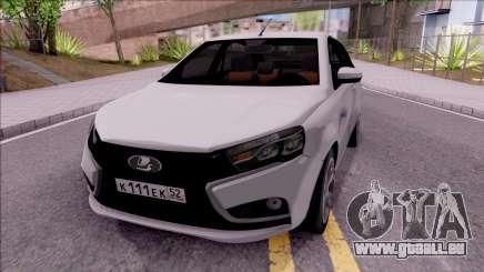 Lada Vesta 2016 pour GTA San Andreas