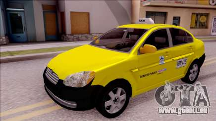 Hyundai Accent Taxi Colombiano pour GTA San Andreas