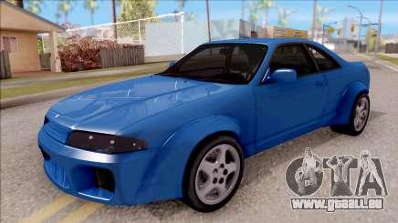 Nissan Skyline R33 Tuned für GTA San Andreas