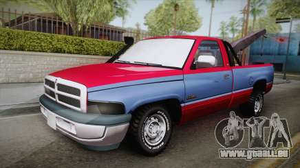 Dodge Ram 2500 Towtruck pour GTA San Andreas