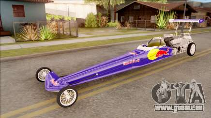 Dragster Red Bull pour GTA San Andreas