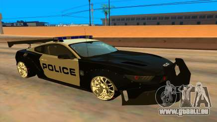 Ford Mustang GT 2015 Police Car für GTA San Andreas
