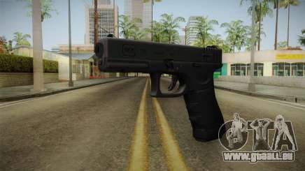 Glock 18 3 Dot Sight Green für GTA San Andreas