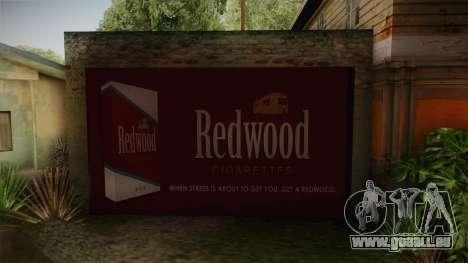 New CJ House Garage V2 für GTA San Andreas dritten Screenshot