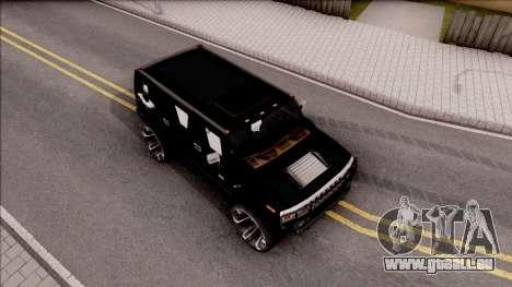 Hummer H2 Batman Edition für GTA San Andreas