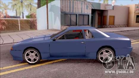 New Elegy pour GTA San Andreas laissé vue