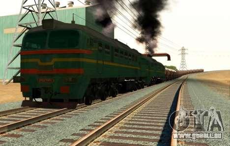 Güterzug-Lokomotive 2M62 1184 Masha für GTA San Andreas