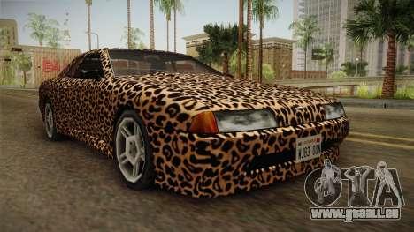 New Elegy Paintjob v3 für GTA San Andreas rechten Ansicht