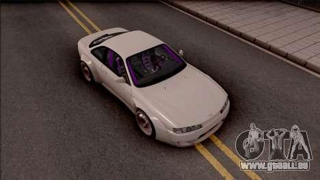 Nissan 200SX Drift Rocket Bunny pour GTA San Andreas vue de droite
