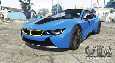 BMW i8 (I12) 2015 [add-on] für GTA 5