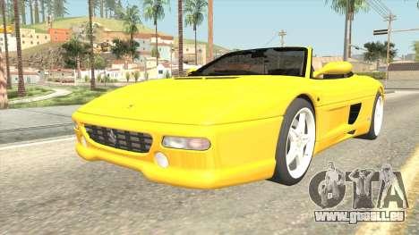 Ferrari F355 Spider für GTA San Andreas