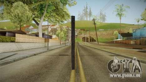 Silent Hill Downpour - Wooden Plank SH DP für GTA San Andreas dritten Screenshot