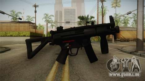 Mirror Edge HK MP5K-PDW pour GTA San Andreas