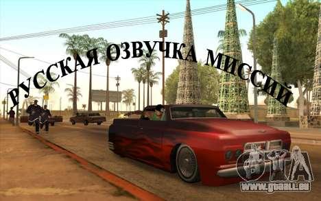 La voix de la russie pour GTA San Andreas