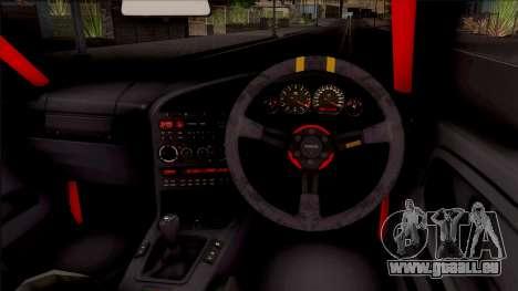 BMW M3 E36 Drift Rocket Bunny v2 pour GTA San Andreas vue intérieure