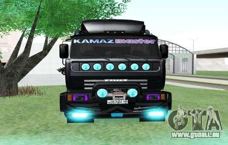 KAMAZ 65115 BLACK NIGHT für GTA San Andreas rechten Ansicht