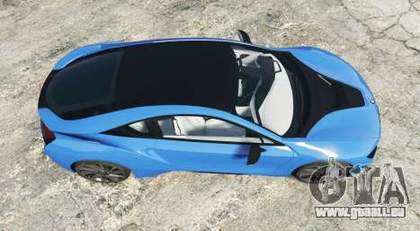 GTA 5 BMW i8 (I12) 2015 [add-on] Rückansicht