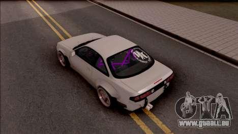 Nissan 200SX Drift Rocket Bunny pour GTA San Andreas vue arrière