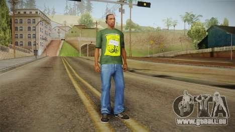Dedsec T-Shirt pour GTA San Andreas troisième écran