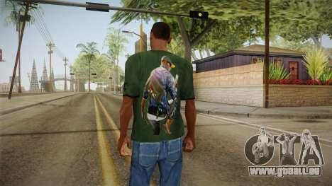Dedsec T-Shirt pour GTA San Andreas deuxième écran