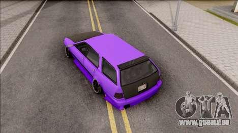 Stratum Stanced pour GTA San Andreas vue arrière