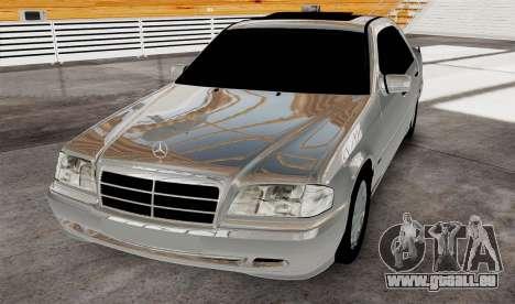 Mercedes Benz с180 pour GTA 4 est un droit