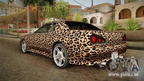 New Elegy Paintjob v3 für GTA San Andreas linke Ansicht