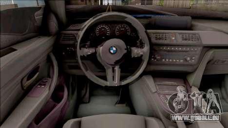BMW M4 Itasha Hatsune Miku 2017 Liberty Walk pour GTA San Andreas vue intérieure