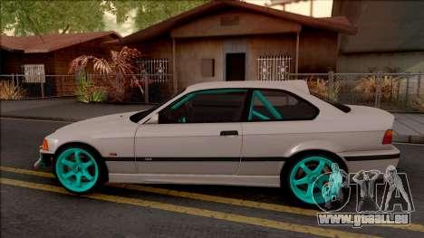 BMW M3 E36 Drift v2 pour GTA San Andreas laissé vue