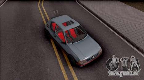 Peugeot 205 GTI pour GTA San Andreas vue de droite