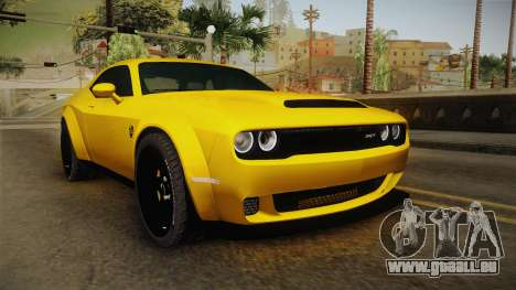 Dodge Challenger Demon 2018 pour GTA San Andreas