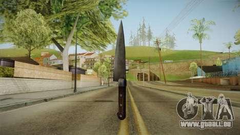 Silent Hill Downpour - Knife SH DP v1 pour GTA San Andreas deuxième écran