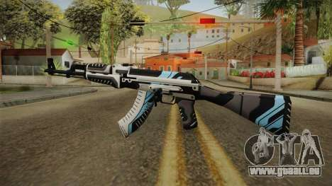 CS: GO AK-47 Vulcan Skin pour GTA San Andreas deuxième écran