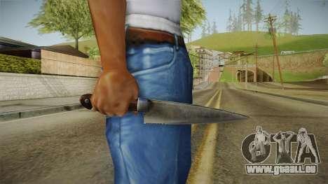 Silent Hill Downpour - Knife SH DP v1 pour GTA San Andreas troisième écran