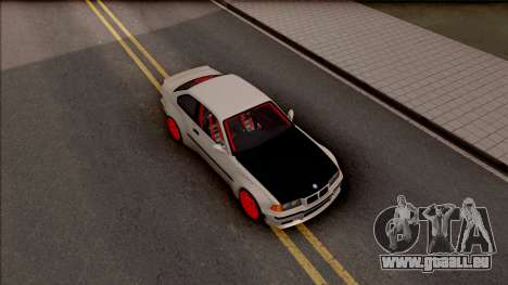 BMW M3 E36 Drift Rocket Bunny v2 pour GTA San Andreas vue de droite