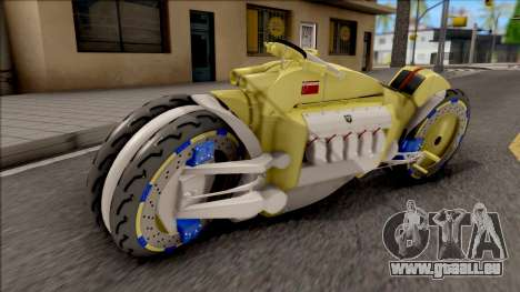 Dodge Tomahawk Gold pour GTA San Andreas