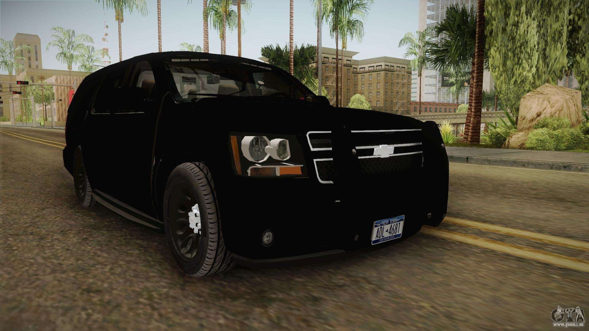 Chevrolet Tahoe 2013 Police pour GTA San Andreas