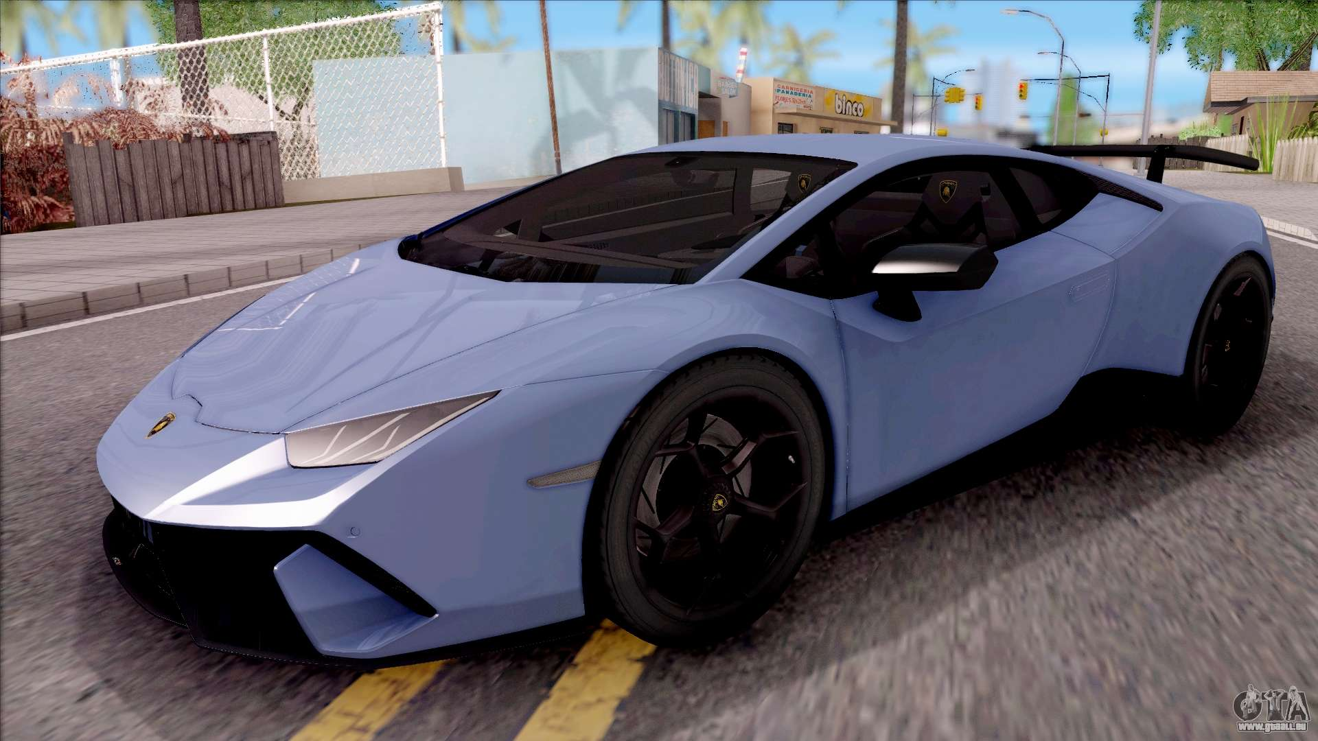 lamborghini huracan performante pour gta san andreas. Black Bedroom Furniture Sets. Home Design Ideas