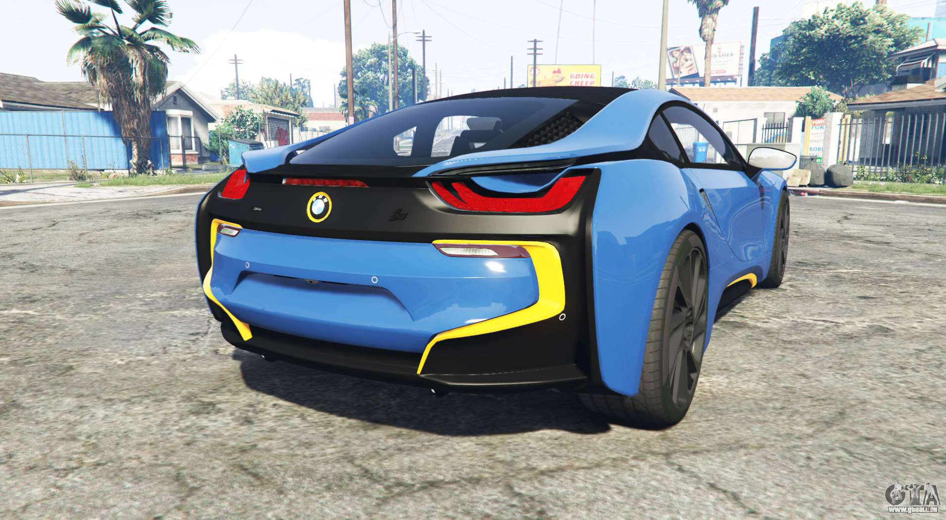 bmw i8 i12 2015 add on f r gta 5. Black Bedroom Furniture Sets. Home Design Ideas
