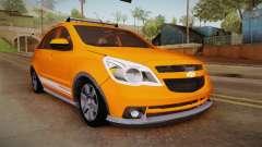 Chevrolet Agile Crossport Edition pour GTA San Andreas