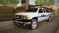 GMC Sierra San Andreas Police Lifeguard 2010